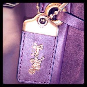 Anniversary edition plum coach purse.